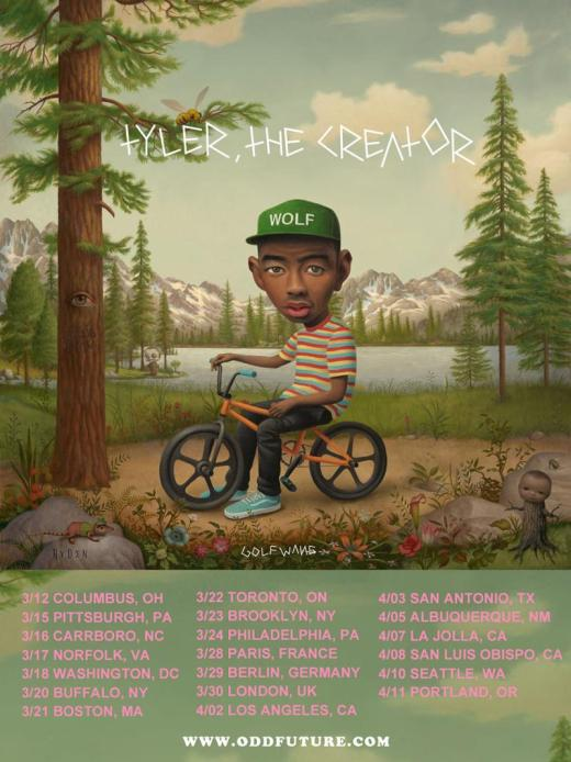 Tyler, The Creator To Play Columbus 3/12