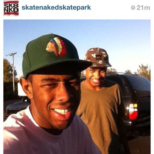 Tyler, The Creator @ Skate Naked 9/24/13