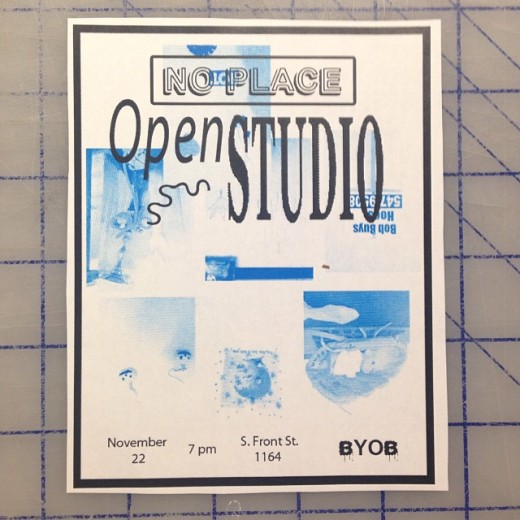 Open Studio At No Place